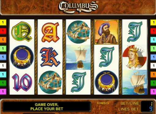 Columbus play the pokies online for money