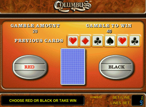Doubling game of pokies Columbus