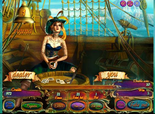 Doubling game of pokies Pirate Treasures