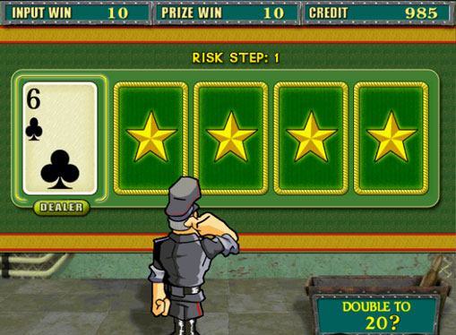 Doubling game of pokies Resident