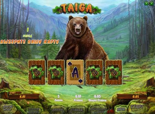 Doubling game of pokies Taiga