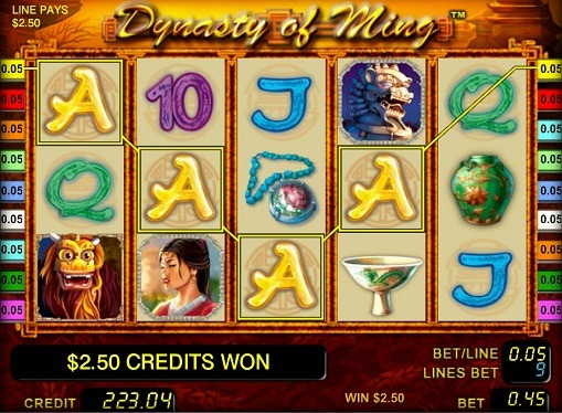 Dynasty of Ming play the pokies online for money