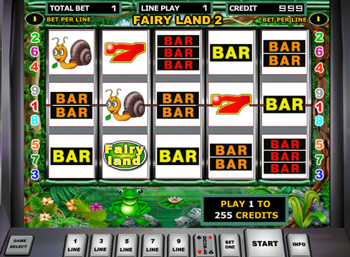 Fairy Land 2 play the pokies online