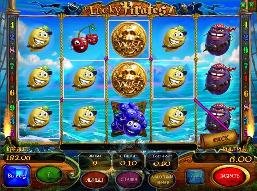 Lucky Pirates play the pokies online for money