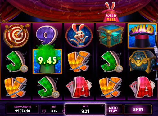 Magic hat of pokies Rabbit in the Hat