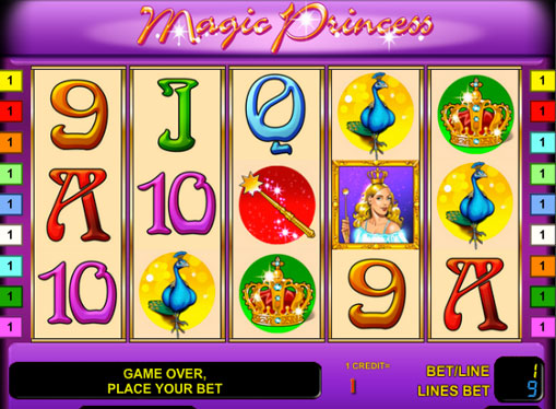 Magic Princess play the pokies online for money