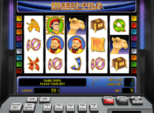 Marco Polo play the pokies online