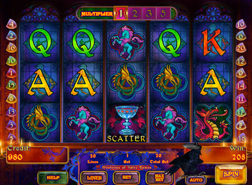 Mysteries of Notre Dames Play the pokies online for money