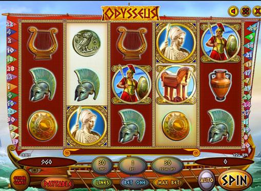 Odysseus play the pokies online for money