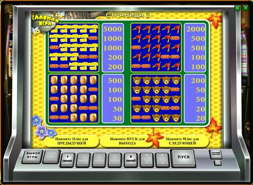 Paytable of pokies Sweet Life