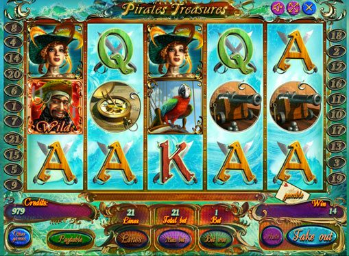 Pirate Treasures play the pokies online for money