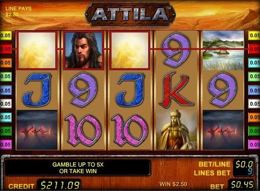 Play the pokies Attila