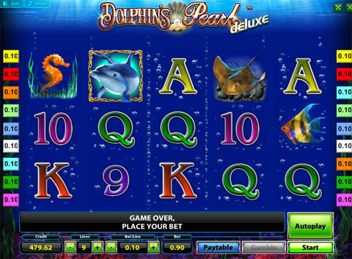 Play the pokies Dolphins Pearl Deluxe