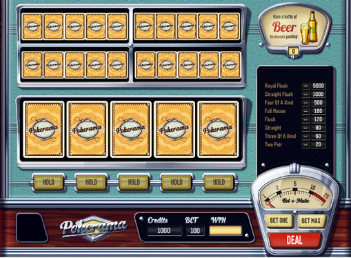 Pokerama play the pokies online for money