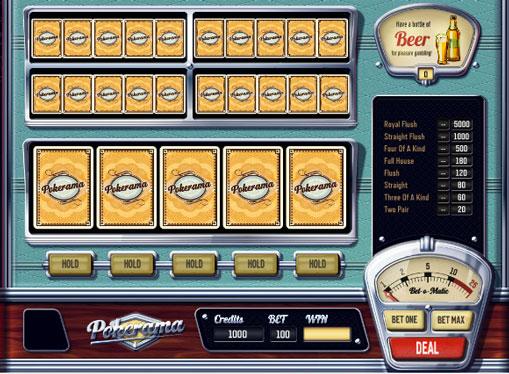 Pokerama play the pokies online for money