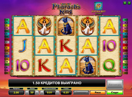 Pharaohs Ring Play the pokies online