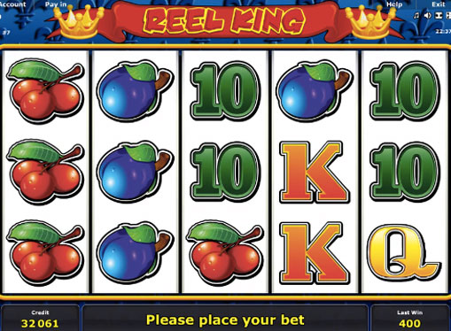 Reel King play the pokies online for money