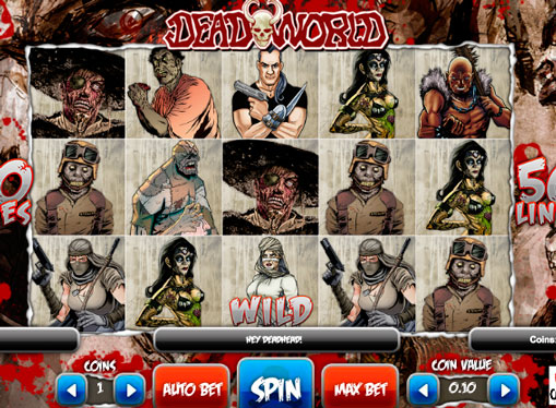 Reels Deadworld pokies machine