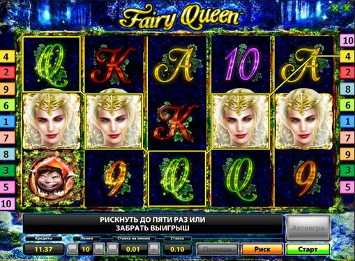The reels of pokies Fairy Queen