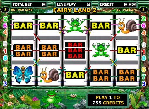 The reels of pokies Fairy Land