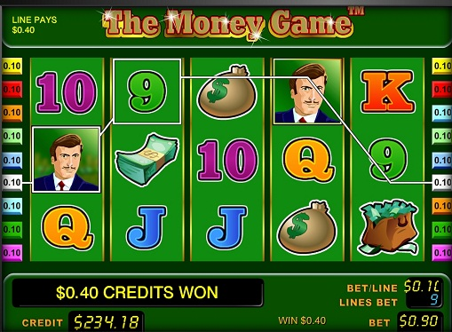 The Money Game Play the pokies online