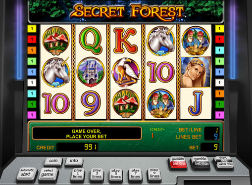 Secret Forest play the pokies online for money