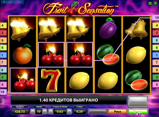 The appearance of pokies Fruit Sensation Deluxe
