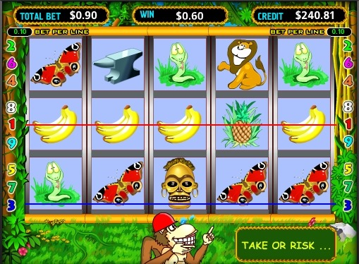 Crazy Monkey Play the pokies online