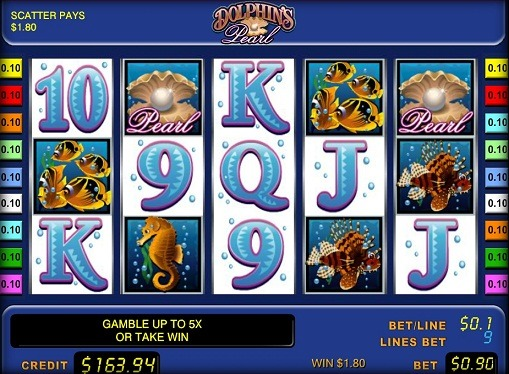 Dolphin's Pearl Play the pokies online