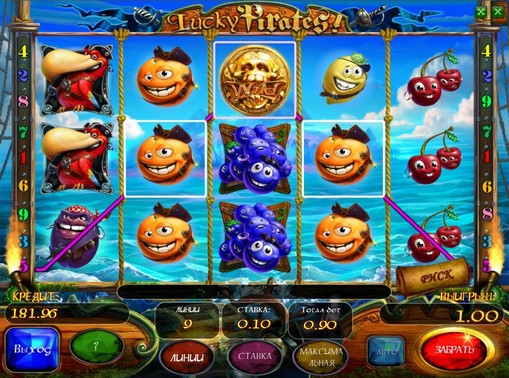 The signs of pokies Lucky Pirates