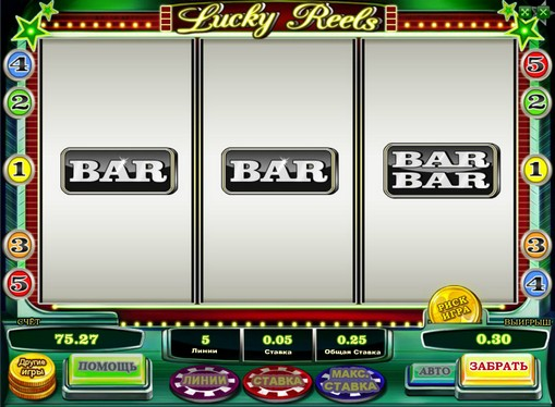 The signs of pokies Lucky Reels