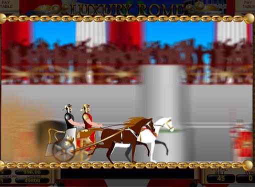Wheel of Fortune of Luxury Rome and instant bonuses